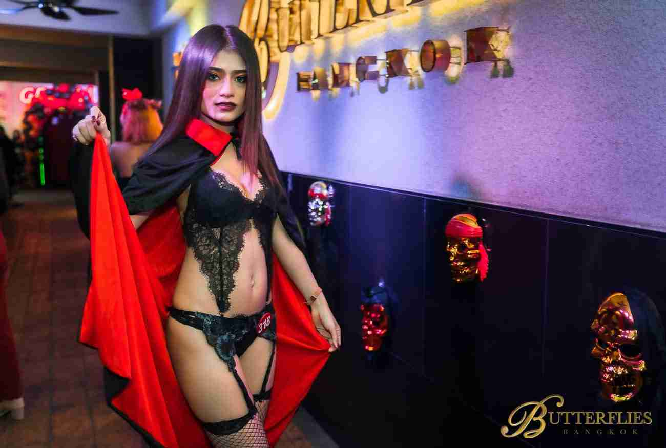 Butterflies Bangkok Halloween Party 2019 Photos