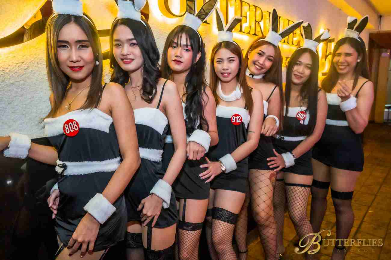 Butterflies Bangkok Playmates Party 2019 Nana Plaza Bangkok