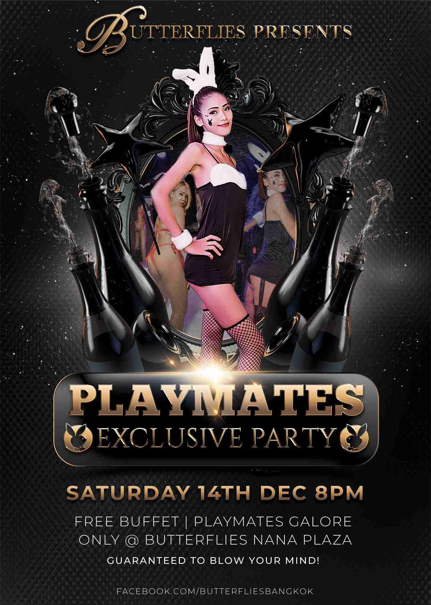 Butterflies Bangkok Playmates Party 2019